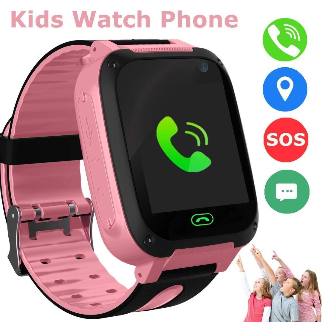 1496) Kids Smart Watch Phone, LBS/GPS Tracker Smart Watch