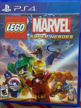 PS4 Lego Marvel super hero