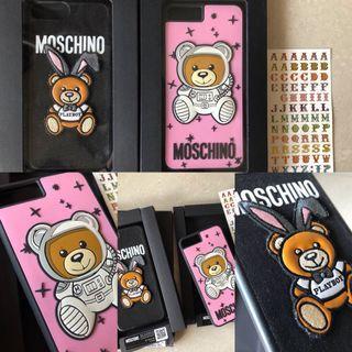 正貨兩入)moschino熊熊iPhone 7/8plus手機殼