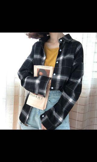 🚚 Checkered Outerwear