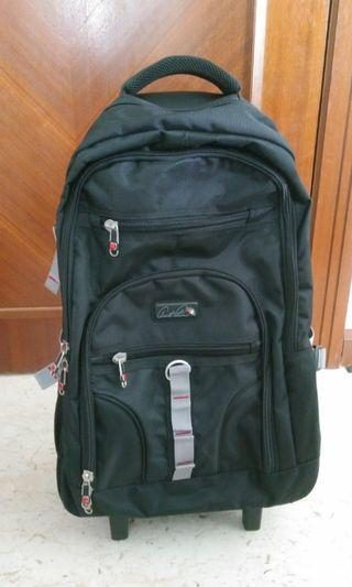 Arnold Palmer 2 wheel 24in Trolly detachable Backpack
