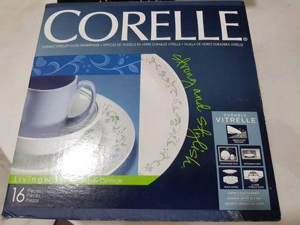 ORIGINAL CORELLE 16 PCS DINNER SET