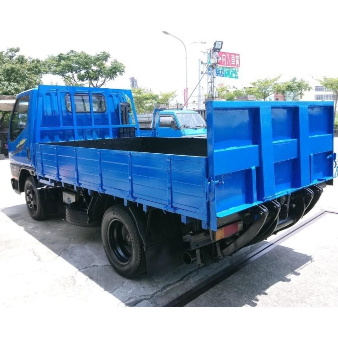 2002年 升降尾門 昇降機 堅達貨車 中華堅達 CANTER 三噸半 柴油貨車 三期貨車 中古貨車