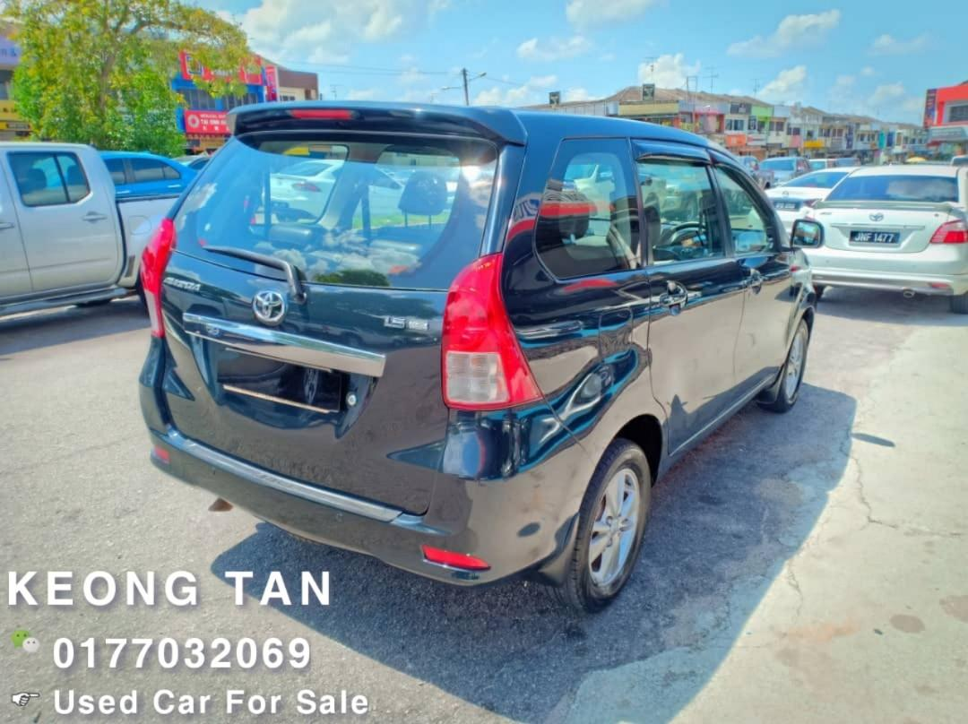 2013TH🚘TOYOTA AVANZA 1.5AT G SPEC🎉 Johor Plate🚘Low MILEAGE 7XXXXKM💲  Cash OfferPrice Rm38,500 Only‼ LowestPrice InJB‼