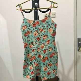 Flower Jumpsuit Celana Tosca