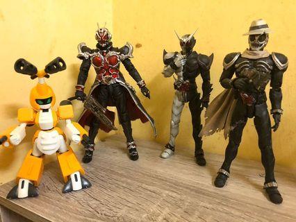 Kamen Masked Rider W Fangjoker & Skull SIC S.I.C