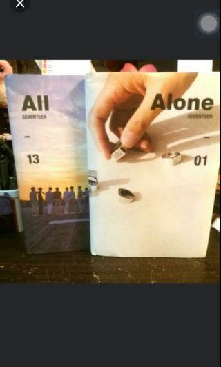 [WTS] SEVENTEEN AL1 ALL ALONE OFFICIAL ALBUM