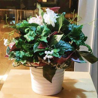 Flowers - Artificial Greens Table Arrangement