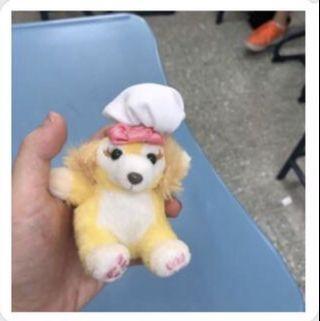 迪士尼 達菲朋友 廚師狗 cookie 吊飾