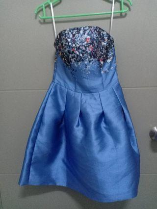 Love bonito Blue Mini dress