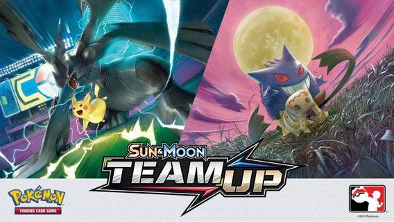 Team up Pokémon cards