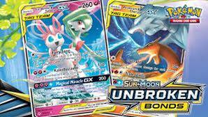 Unbroken bonds Pokémon cards