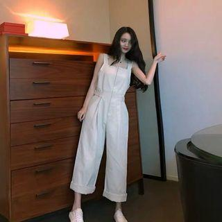 NEW White Jumpsuit IMPORTED
