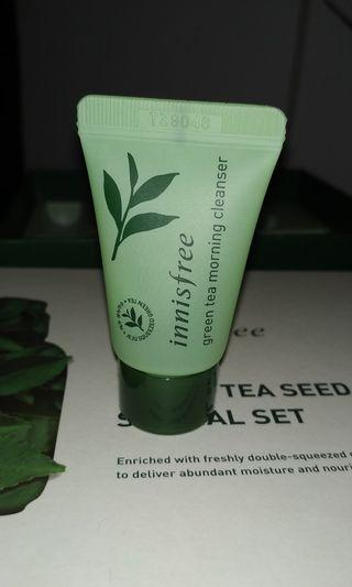 Innisfree Green Tea Morning Cleanser Travel Size 10 mL