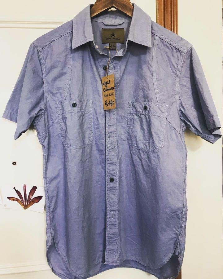 實體店 可試 nigel cabourn shirt 日本製