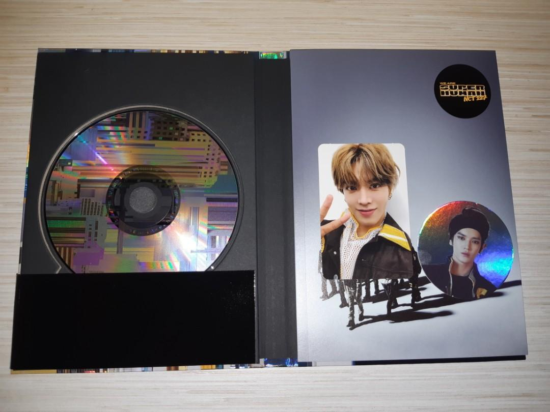 [ UNSEALED ] NCT 127 SUPERHUMAN: YUTA AND TAEYONG PC ( + YUTA AND GROUP POSTER )