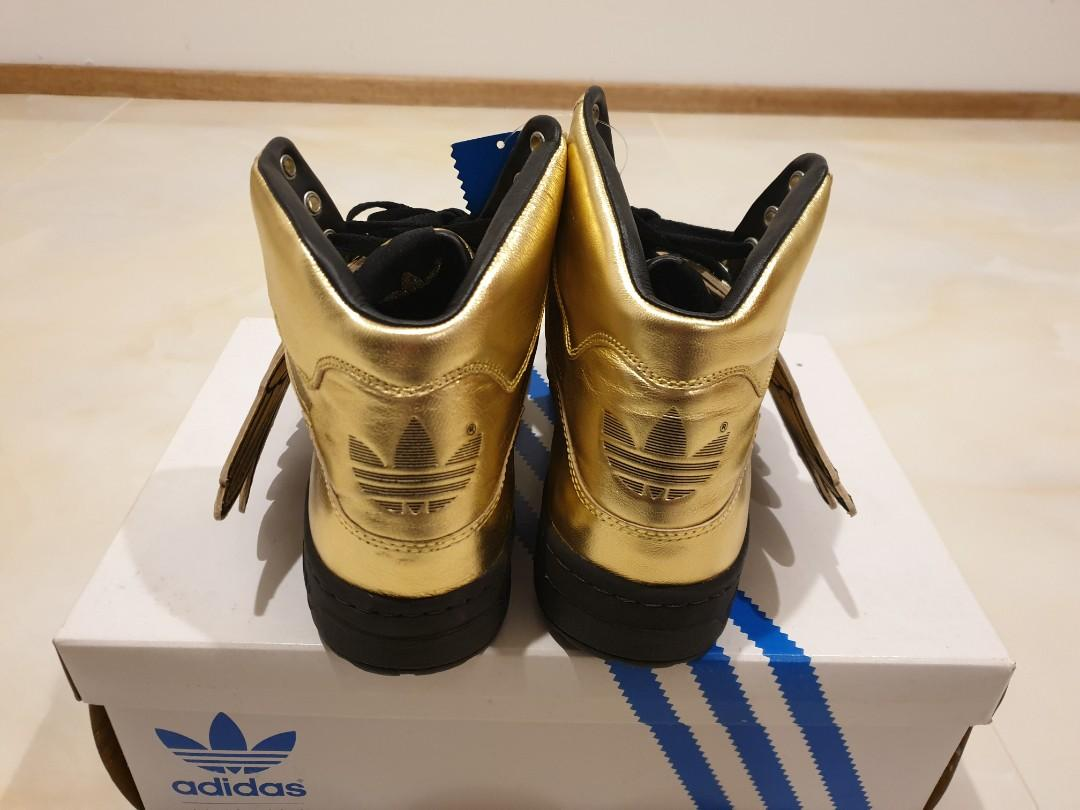 Adidas Jeremy Scott JS Wings Gold sz10 US Brand new in box