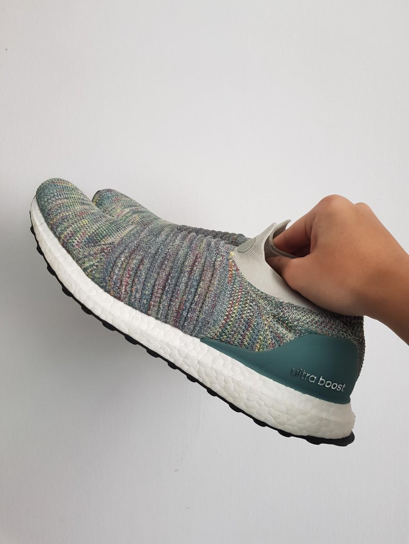 Adidas Ultra Boost Laceless Ash Silver