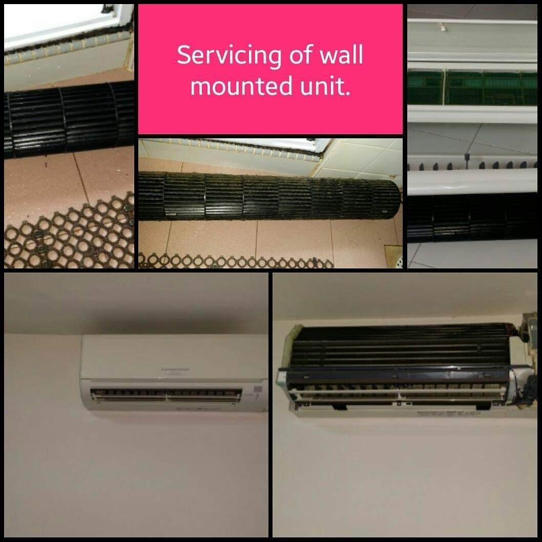 Air Conditioner Servicing & Diagnostic Check.