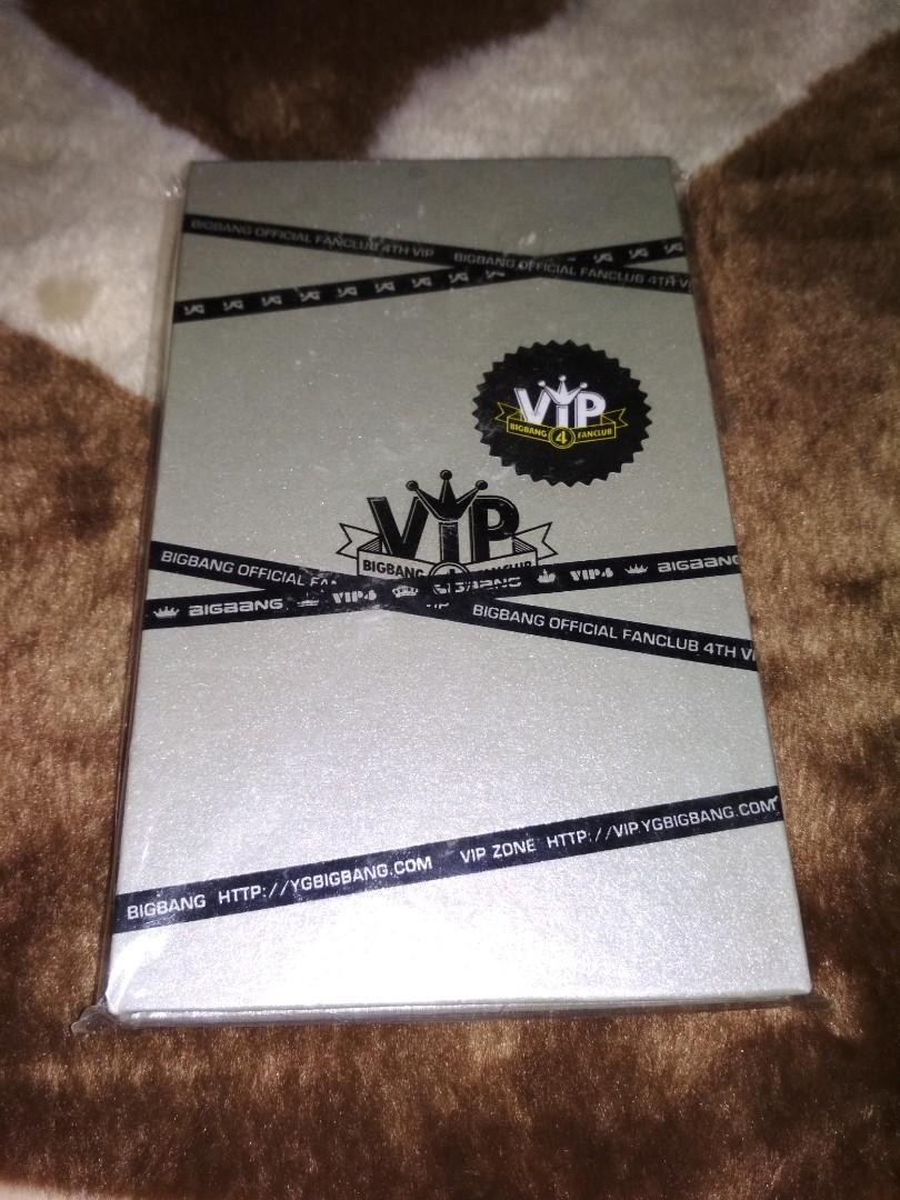 BigBang Fanclub VIP 4th Membership PC Set with Standee Card
