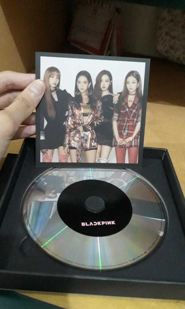 BLACKPINK 1st MINI ALBUM 'SQUARE UP' Black Ver. Fullset(+Poster)