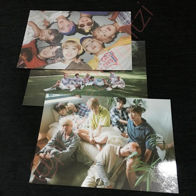 BTS SEASONS GREETINGS 2019 MOUSE PAD, MINI POSTER SET