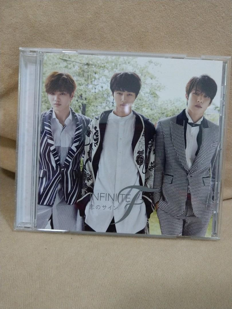 (Free Shipping) Infinite F 恋のサイン Japanese Single Album