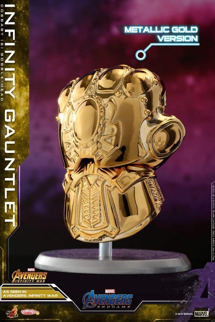 Hot Toys Avengers: Endgame Metallic Gold Thanos/Infinity