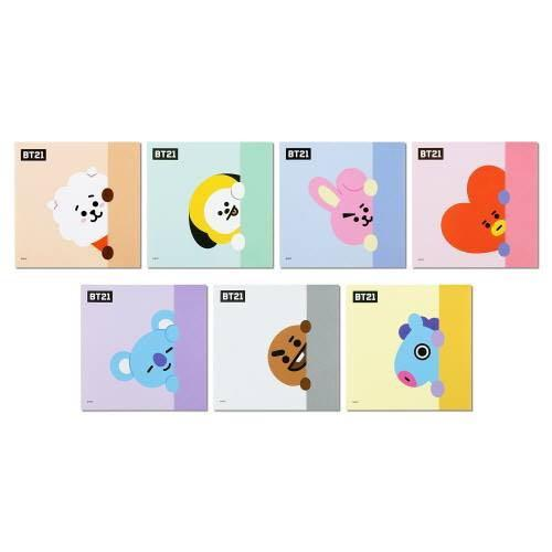 【Korea Buying Service】BT21 x Monopoly Square Memo Pad