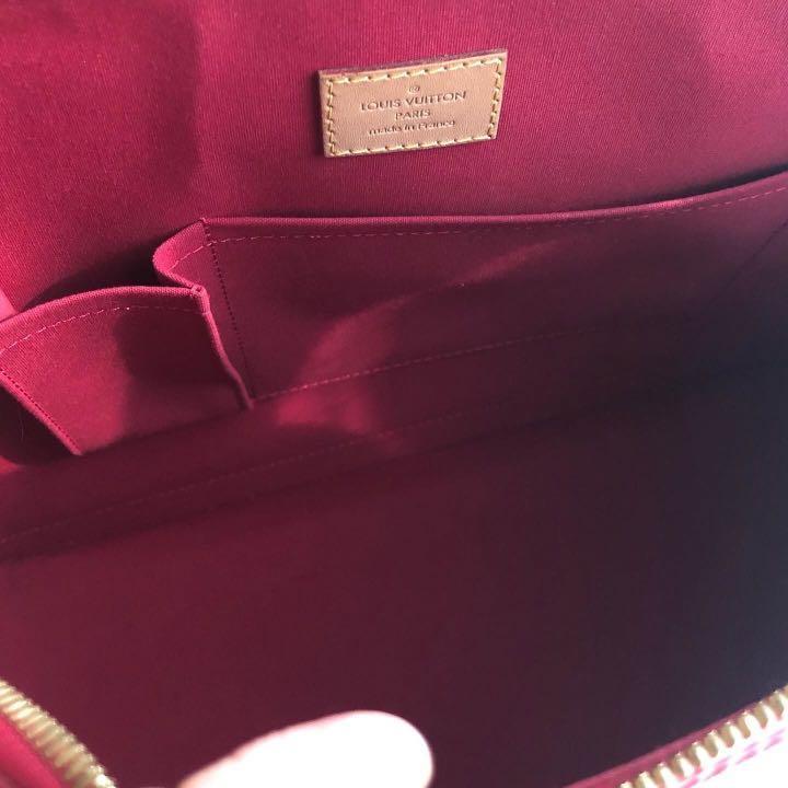 Louis Vuitton Alma vernis GM, with dusbag Key & lock , excellen condition 11.5 jt