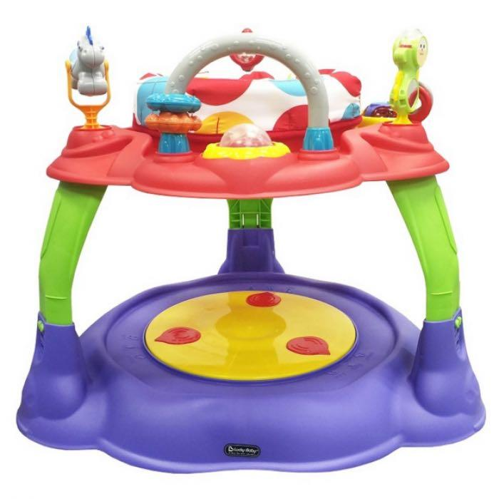 LUCKY BABY WONDER ACTIVITY CENTER CHANGE TO PLAY TABLE - COLOURFUL