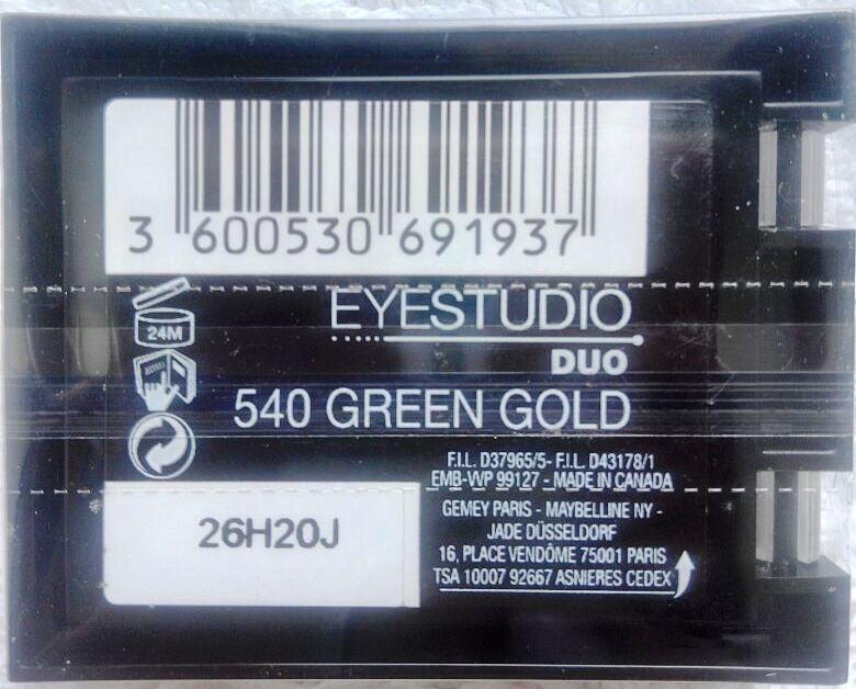 Maybelline eyestudio color