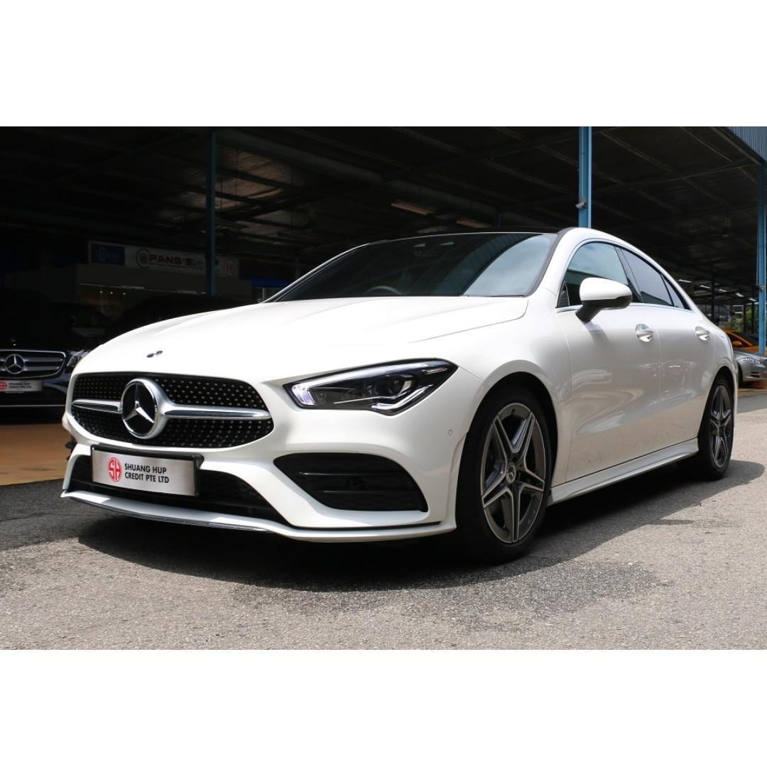 Mercedes-Benz CLA-Class CLA180 AMG Line Premium Plus
