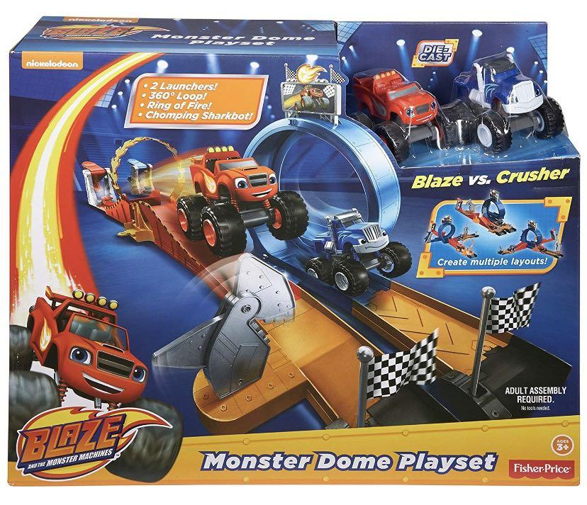 New Blaze & The Monster Machines, Monster Dome Vehicle Playset boy kids gift