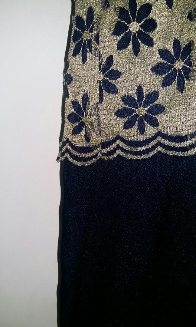 Night floral dress