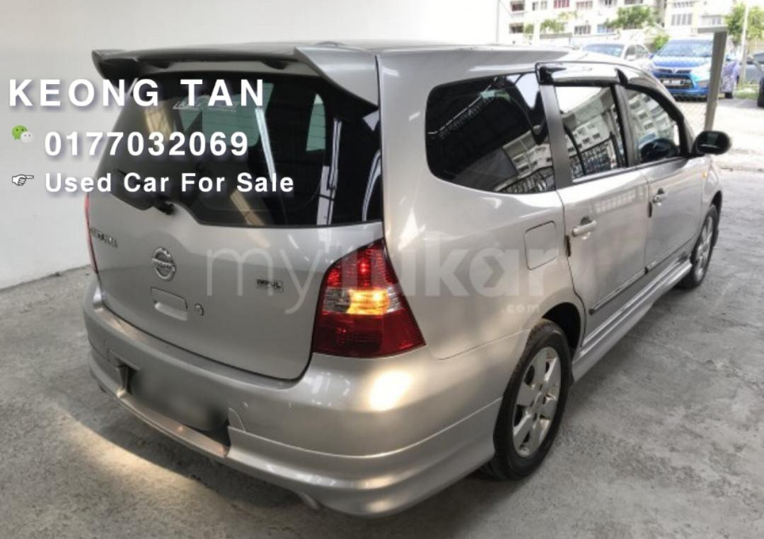 NISSAN Grand LIVINA 1.6AT NewFacelift Impul Luxury 2012TH LowMileage 7XxxxKm Cash💰OfferPrice💲 Rm36,800 Only‼ LowestPrice InJB‼