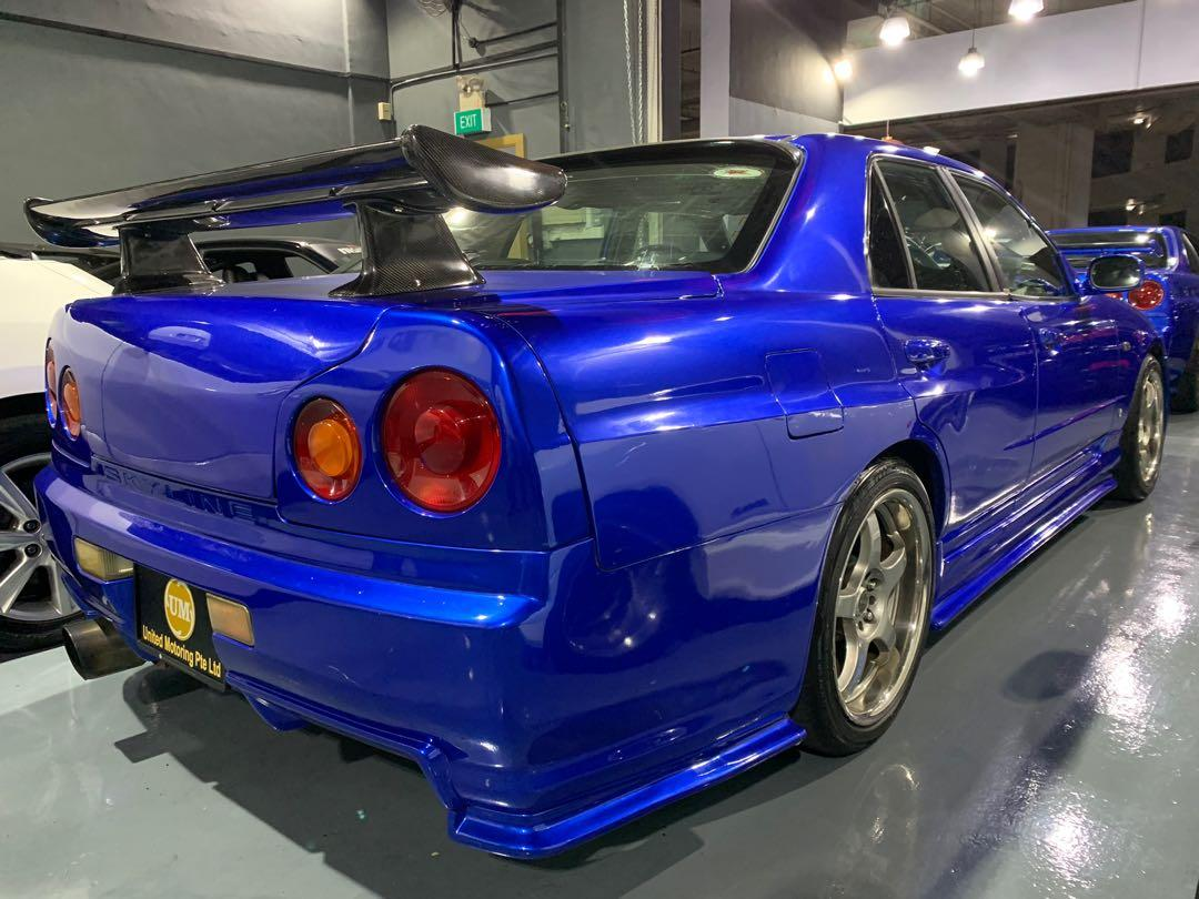 Nissan Skyline Manual