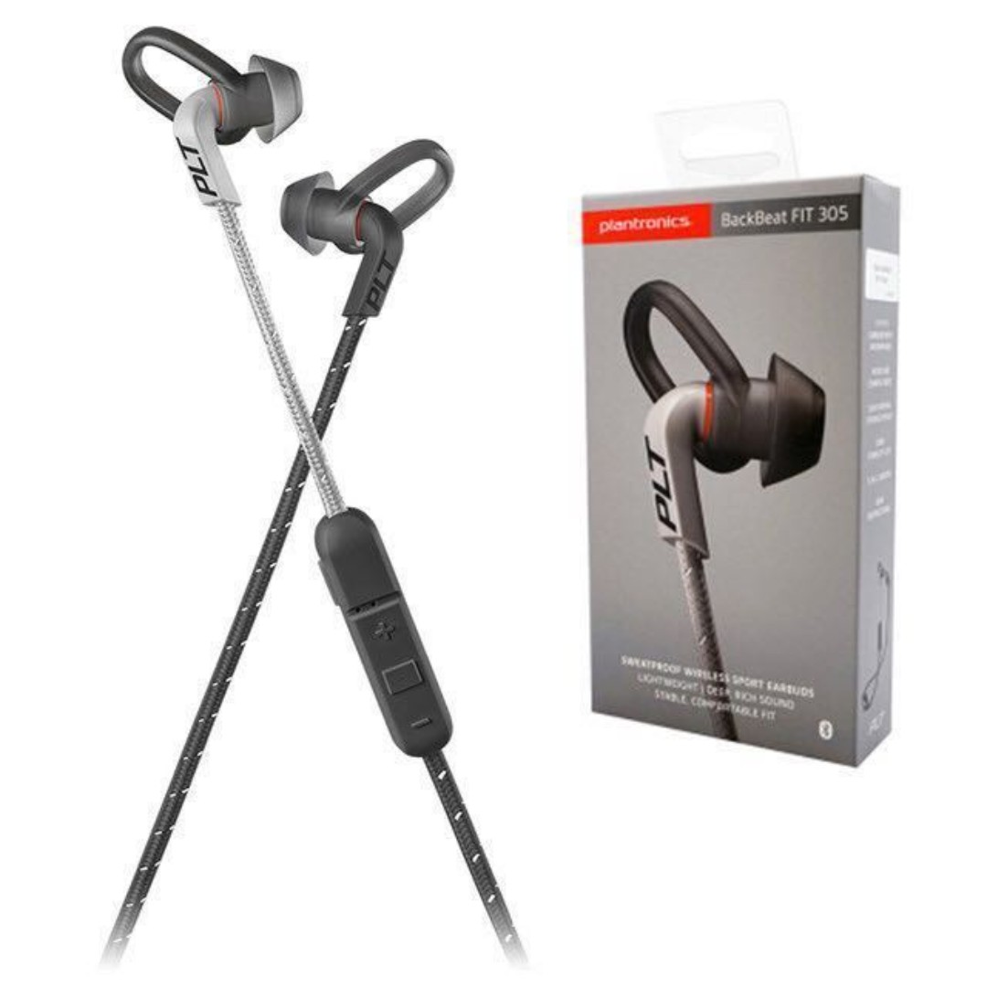 Plantronics BackBeat Fit 305 Wireless With Sport Pouch