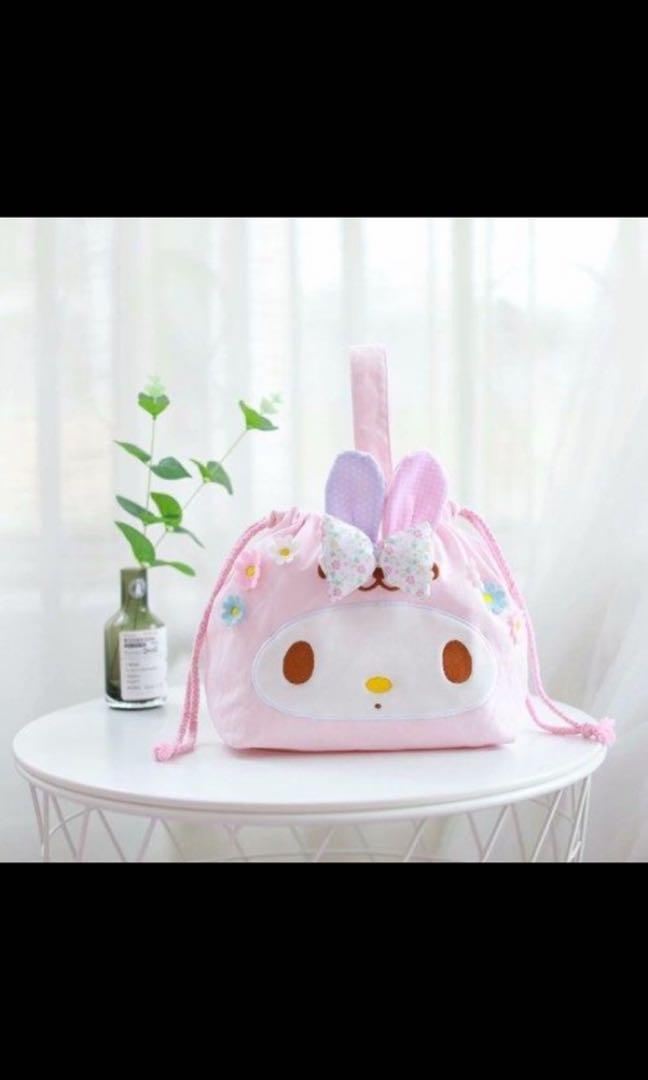 P.O Japan Imported Sanrio Hello Kitty My Melody Cinnamonroll Gudetama Pompompurin Bag Pouch Case Wallet Rucksack Luggage