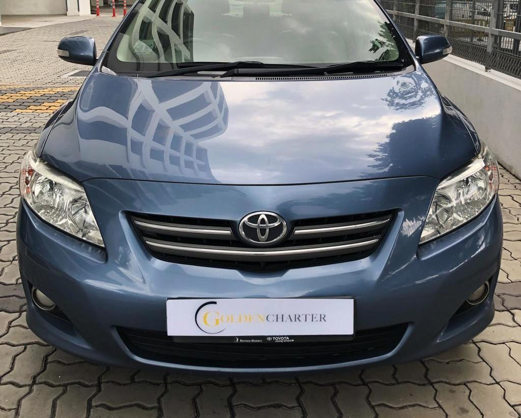 Toyota Altis Cheapest rental Grab GoJek or Personal Use