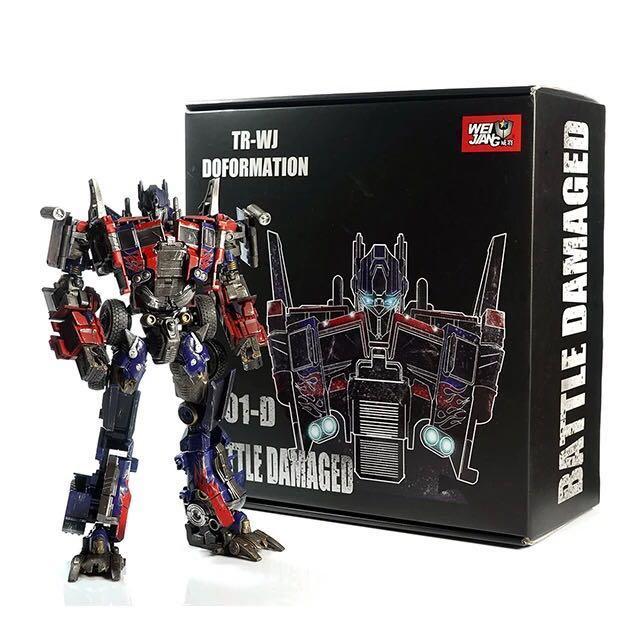 Transformers WeiJiang Alloy plate MPP10B Dark version OptimusPrime Commander