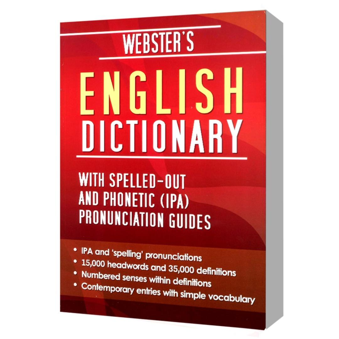 Webster's English Dictionary with Spelled-out and Phonetic (IPA) Pronunciation Guides | Reference