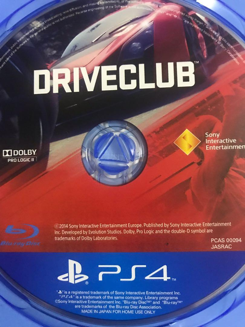 WTS HZD & DriveClub