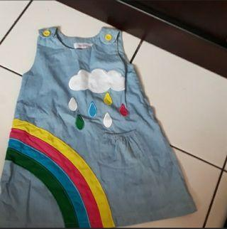 Mididress Rainbow Merk Dekchan Size 4