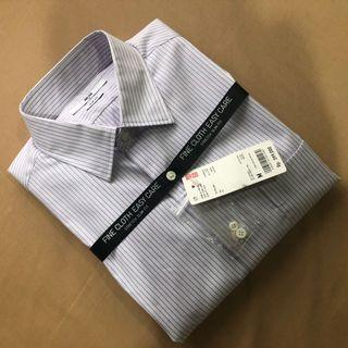 Kemeja Uniqlo Easy Care Stretch Slim Fit