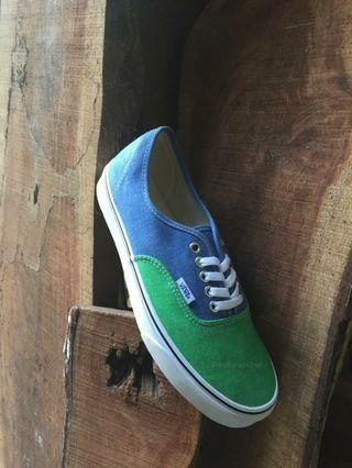 Vans Authentic Washed Twotone Fern Green