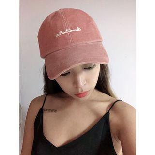 粉色系 古著 鴨舌 老帽