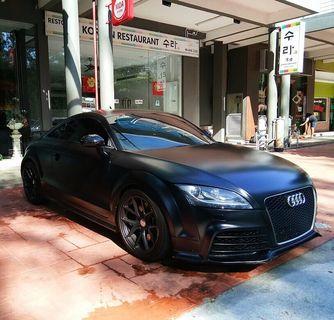 Audi TT for Rental