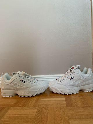 Fila Disruptor Shoes Size 7