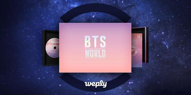 Bts world ost limited edition!